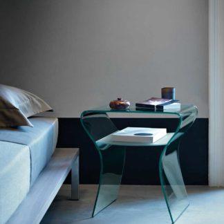 0 fiam glazen bijzettafel Charlotte de Nuit design by Prospero Rasulo