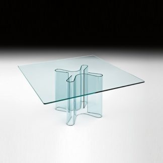 FIAM Glazen eettafel Sahara design by Bartoli Design