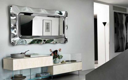 1 FIAM design spiegel Dorian 202x105 by Massimo Iosa Ghini