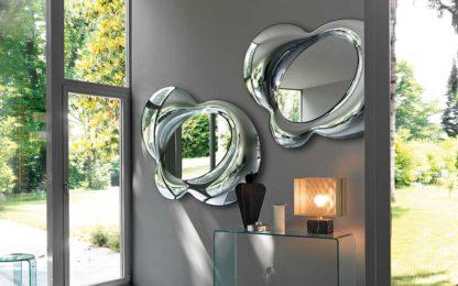 FIAM design spiegel Lucy 153x117 design by Doriana E Massimiliano Fuksas