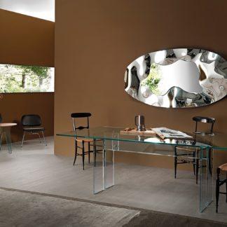 1 FIAM design spiegel Phantom ovaal 180x90 design by Helidon Xhixha en dante O. Benini - Luca Gonzo