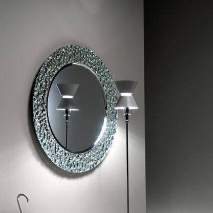 1 FIAM design spiegel Venus rond D126 design by Vittorio Livi