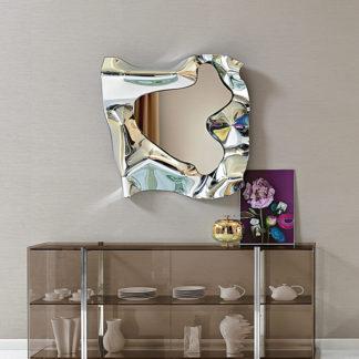 1 FIAM glazen design spiegel Christine 110x110 design by Helidon Xhixha en Dante o Benini - Luca Gonzo