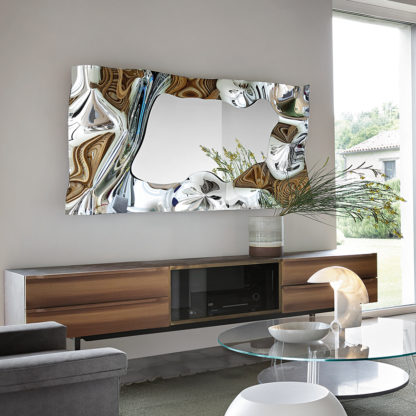 1 FIAM glazen design spiegel Christine 195x100 design by Helidon Xhixha en Dante o Benini - Luca Gonzo