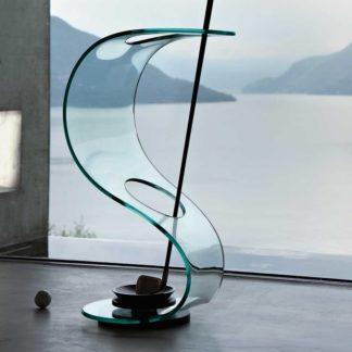 FIAM glazen parapluhouder Cobra design by Elio Vigna