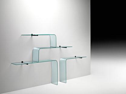 FIAM glazen planchet Mensole by CRS FIAM
