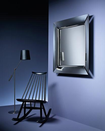 FIAM design spiegel Caadre 105x105 design by Philippe Starck