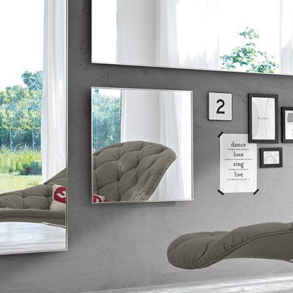 FIAM design spiegel Mirage 70x70 en 160x50, 200x60 design by Daniel Libeskind