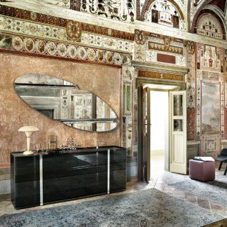1 fiam design spiegel Wing 180x65 design by Daniel Libeskind