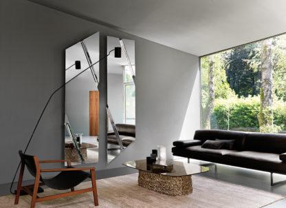 1 fiam design spiegel Wing 200x53 design by Daniel Libeskind