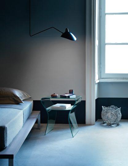 1 fiam glazen bijzettafel Charlotte de Nuit design by Prospero Rasulo