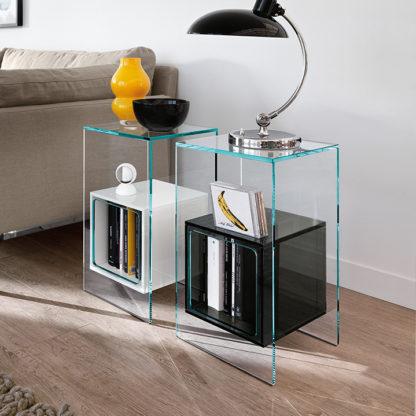 1 fiam glazen design hoektafel magique design by Studio Klass