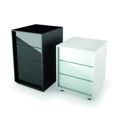 FIAM glazen design ladekast LUMINARE CASSETTIERE design by CRS FIAM
