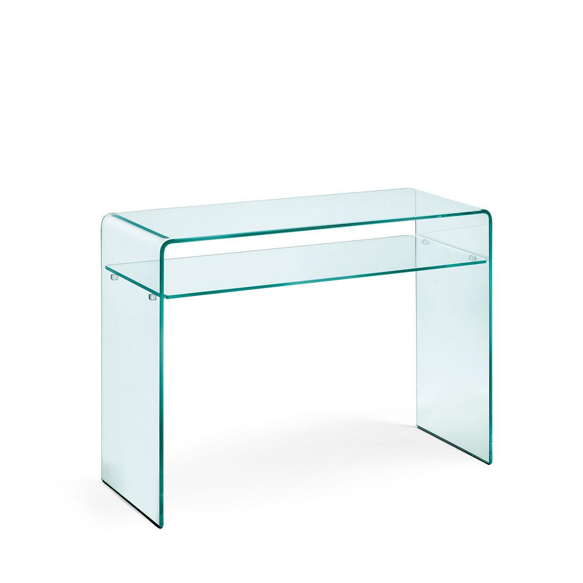 Design Glazen Sidetable.Fiam Glazen Design Side Table Rialto