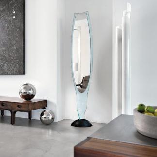 1 fiam glazen design spiegel Admiral 40x37x187 by Fabio di Bartolomei