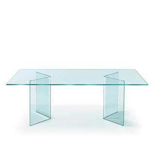 FIAM glazen eettafel Corner design by CRS FIAM