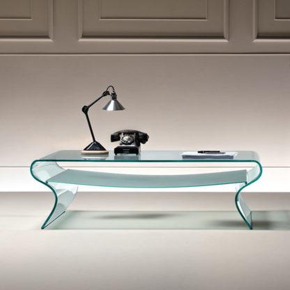 FIAM glazen salontafel Charlotte design by Prospero Rasulo