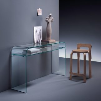 1 fiam glazen side table Elementare design by Enrico Tonucci