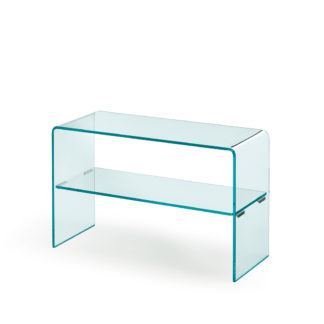 1 fiam glazen side table Rialto side - helder glas by CRS FIAM