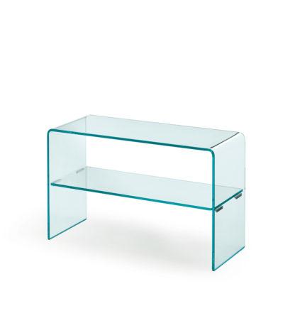 1 fiam glazen side table Rialto side - helder glas by CRS FIAM