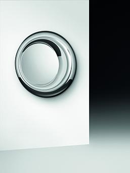 2 FIAM design spiegel Rosy D100 rond design by Doriana E Massimiliano Fuksas