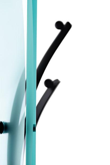 FIAM glazen kapstok Elix design by Fabio Di Bartolomei