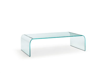 FIAM glazen salontafel Ponte design by Angelo Cortesi