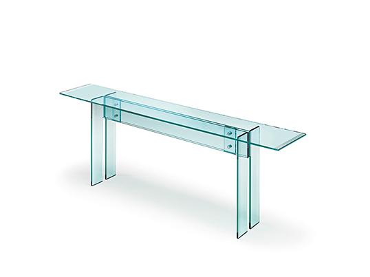 Design Glazen Sidetable.Fiam Glazen Design Side Table Llt