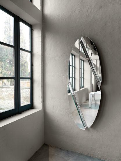 2 fiam design spiegel Wing 180x65 design by Daniel Libeskind