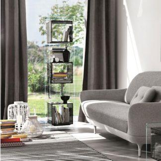 FIAM glazen design vitrine MAGIQUE TOTEM