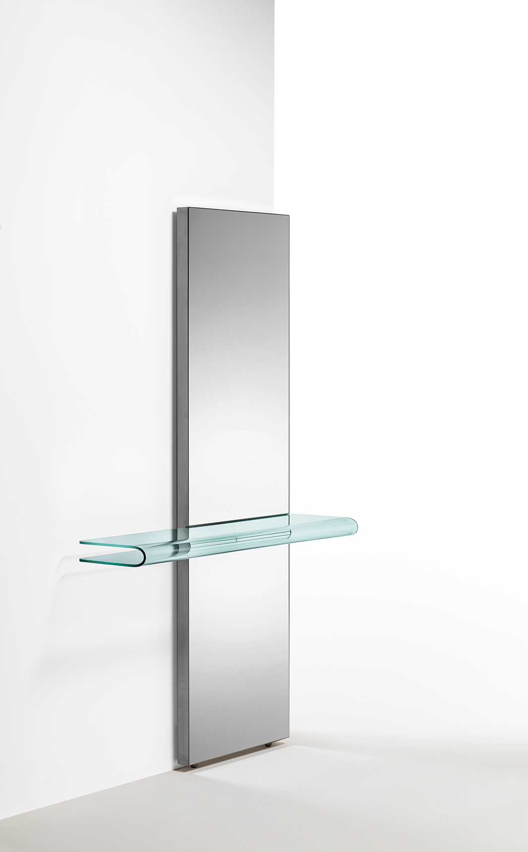 Sidetable Glas Rvs.Fiam Glazen Design Side Table Let Me See