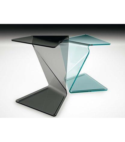 2a fiam glazen bijzettafel Sigmy design by Aquili Alberg