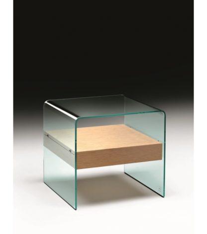 2b fiam glazen bijzettafen nachtkast Rialto Night design by CRS FIAM