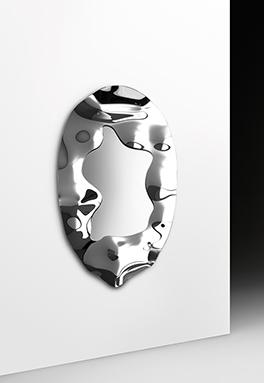3 FIAM design spiegel Phantom ovaal 180x90 design by Helidon Xhixha en dante O. Benini - Luca Gonzo