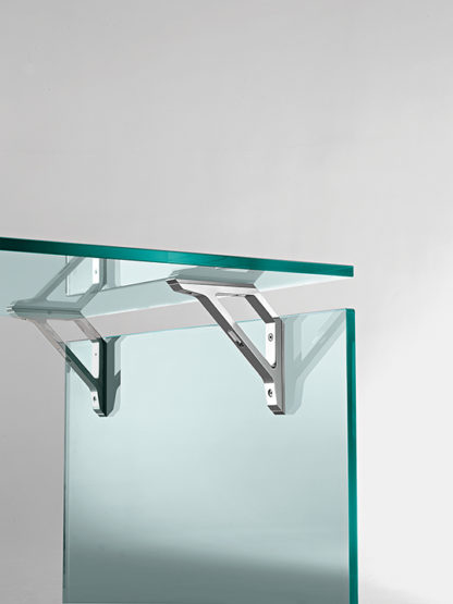 FIAM glazen bureau Bright design by CRS FIAM - detail