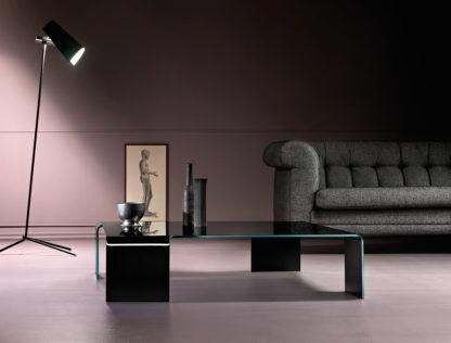FIAM glazen salontafel Neutra design by Rodolfo Dordoni