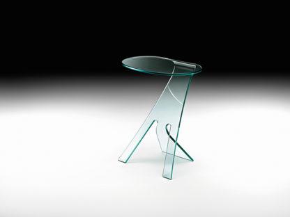 3 fiam glazen bijzettafel Grillo design by Vitorrio Livi technische details