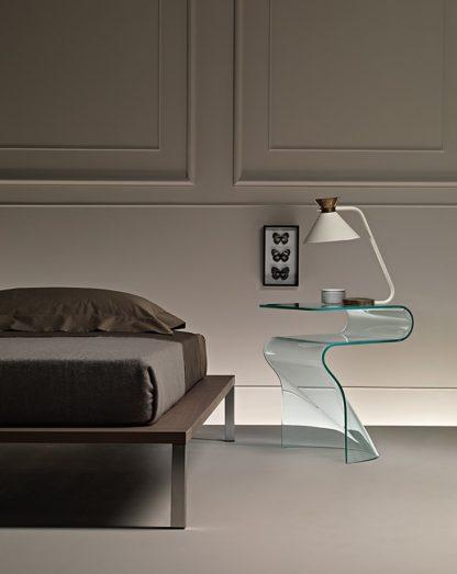 2 fiam glazen bijzettafel Sigmy design by Aquili Alberg - technische details