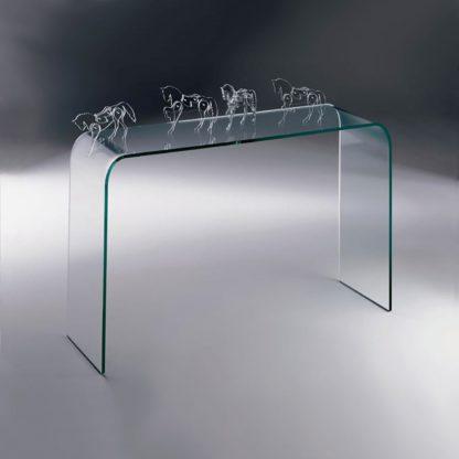 3 fiam glazen side table Elementare design by Enrico Tonucci