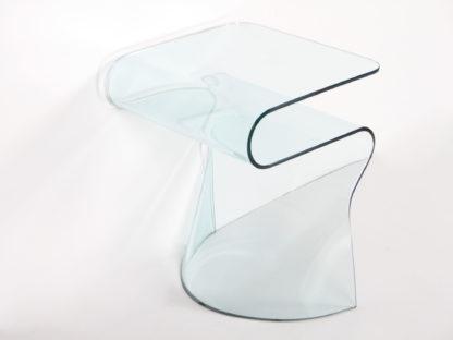 3a fiam glazen bijzettafel Sigmy design by Aquili Alberg