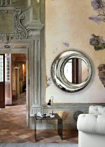 4 FIAM design spiegel Rosy D100 rond design by Doriana E Massimiliano Fuksas