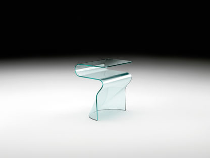 4 fiam glazen bijzettafel Sigmy design by Aquili Alberg