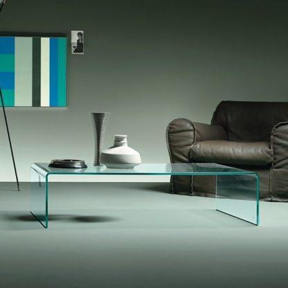 FIAM glazen salontafel Rialto Square design by CRS FIAM