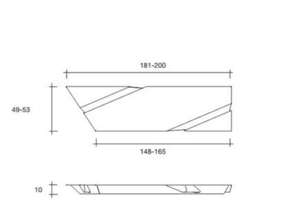 6b fiam design spiegel Wing design by Daniel Libeskind