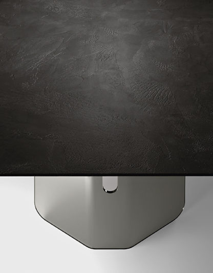 FIAM glazen design eettafel Plie 200x100x75 design by Studio Klass