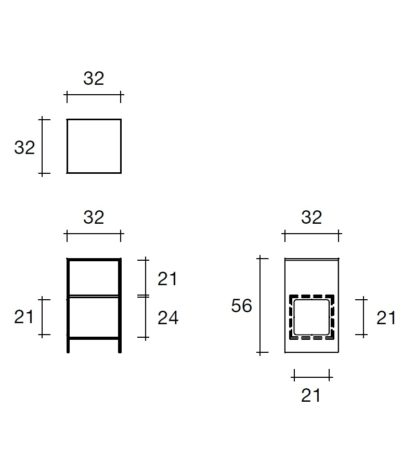 9 fiam glazen design hoektafel Magique design by Studio Klass - technische details