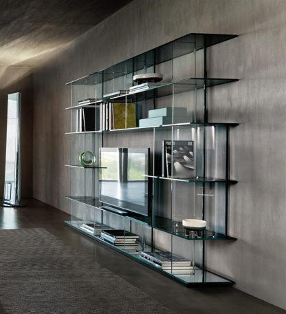 fiam glazen design vitrine INORI design by Setsu E Shinobu Ito