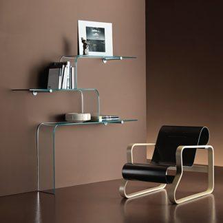 fiam glazen design vitrine MENSOLE design by Gerussi & Sartoris (1)