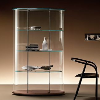 Fiam Glazen Desufb Vitrine PAlladio Uno Design By Vittiro Livi