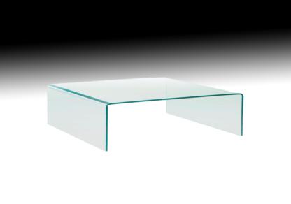 fiam glazen salontafel rialto square vierkant